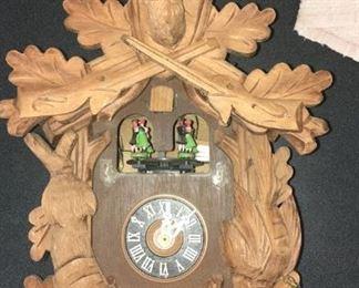 German made cuckoo clock