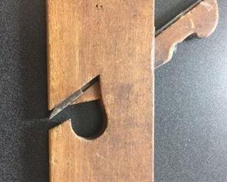 vintage wood hand plane