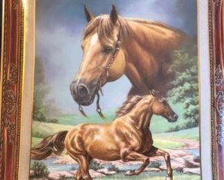 quarter horse tray