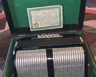 vintage montgomery ward accordion