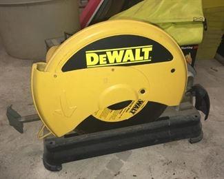 Dewalt 871 chop saw