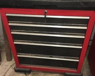 5 drawer craftsman tool bench