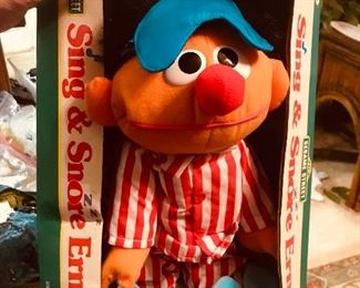 ernie doll from the 1970's