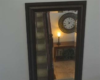 large vertical wall mirror