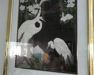 Egret Picture $ 74.00