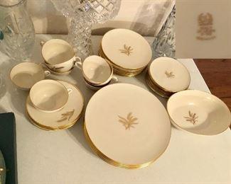Beautiful set of Lenox 'Wheat'  41 pieces