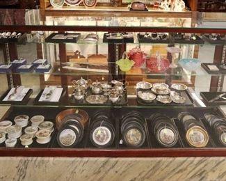 Prattware, Sterling Silver, Wristwatches, Art & Victorian glass
