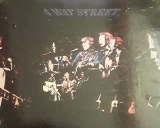 Vintage vinyl Crosby Stills Nash and Young, 4 Way Street