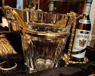Remarkable Baccarat champagne bucket