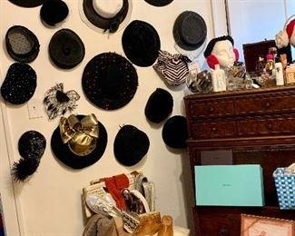 Remarkable vintage hat collection
