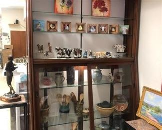Gorgeous wood display case