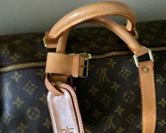AUTHENTIC LOUIS VUITTON MONOGRAM KEEPALL 60 DUFFLE