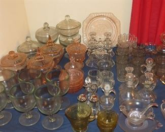 LOTS OF GREAT GLASSWARE.