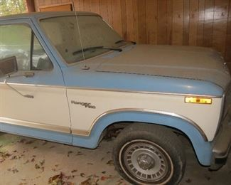1980 FORD F150.  58000 MILES.