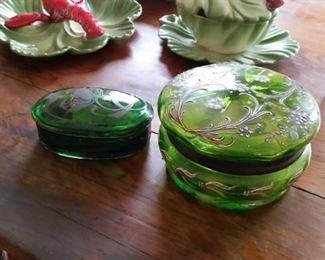 emerald jars