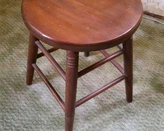 short old stool