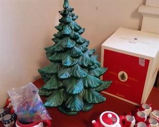 2 piece ceramic tree