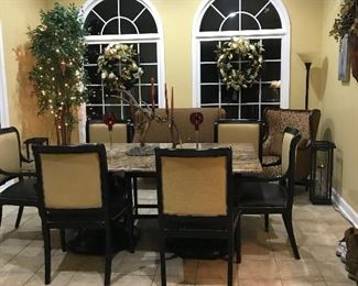 Breakfast Area in Home for Sale