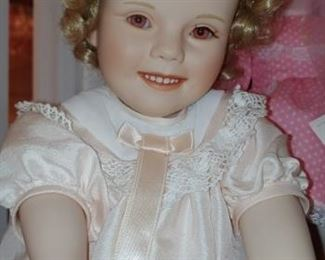 Beautiful bisque Shirley Temple doll