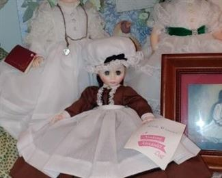 Beautiful selection of vintage Madame Alexander dolls we do have the boxes