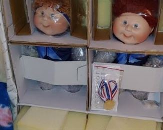 Original Olympic cabbage patch kids
