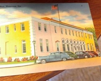 Vintage postcards from Waycross Georgia