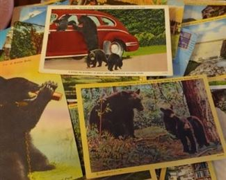 Vintage Gatlinburg Tennessee postcards