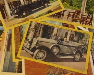 Vintage Warm Springs President Roosevelt postcard