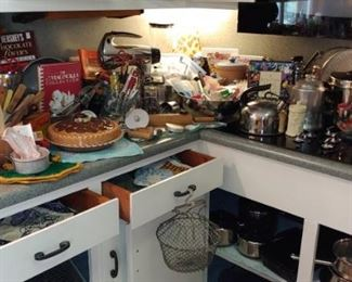 This is a great estate sale don't miss it this packed out kitchen is everything you need for cooking