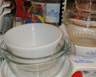 Corning ware and pyrex