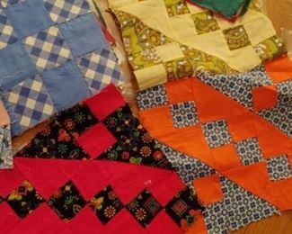 Vintage quilting squares
