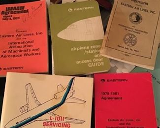 Many Eastern airline items