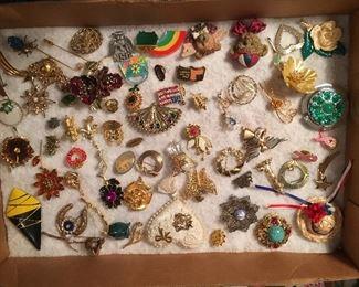 Lots of fun lapel pins!
