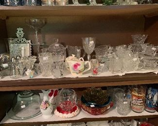 Beautiful assortment of cat Crystal and Glass