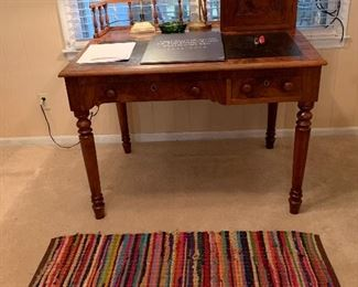 Unique antique captain's desk