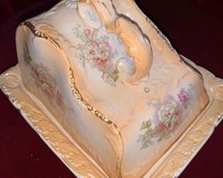 Albany & Harvey vintage covered cheese dish