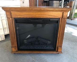 Small Electric fireplace like new