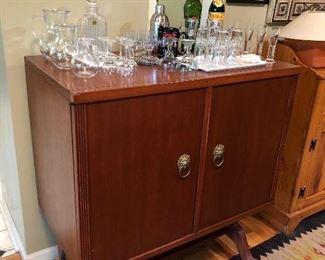 MCM bar cabinet