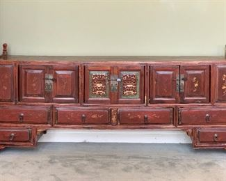 CHINESE ASIAN CONSOLE CABINET