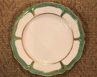 Set of Old Paris luncheon plates