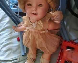 Old Shirley Temple Doll