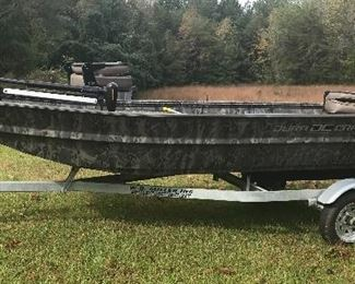 DuraCraft DC fishing boat and trailer