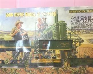John Deere train set (scale HO)