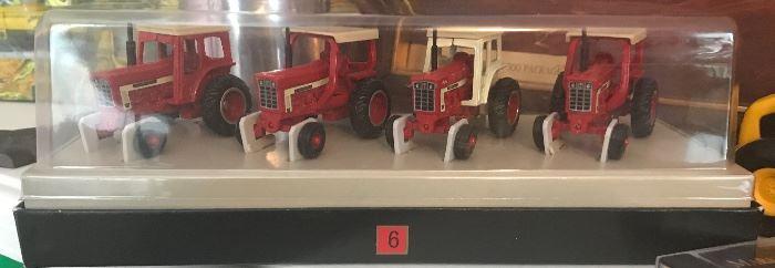 Die cast tractors