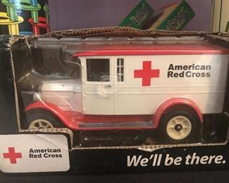 Vintage American Red Cross truck