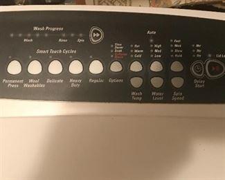 Alternate view of washing machine