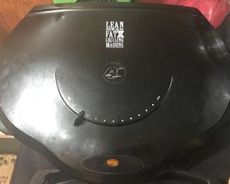 George Foreman Lean Mean Fat Burning Grilling Machine