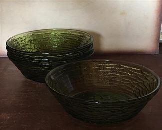 Vintage olive bowls