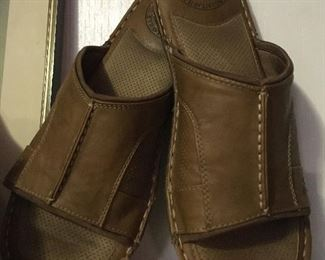 Margaritaville leather slip-on shoes