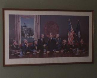 SC Governor's Reunion print